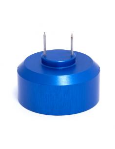 Nadeladapter, blau