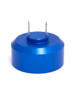 Needle adapter, blue