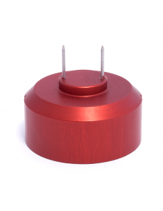 Needle adapter, red